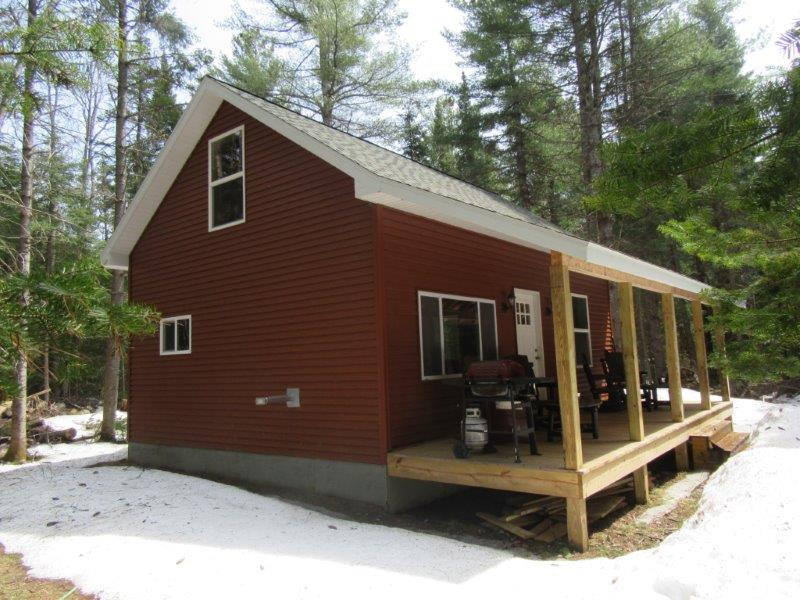 land for sale with Adirondack cabin