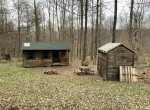 18 acres Hunting Camp Bordering State Lands