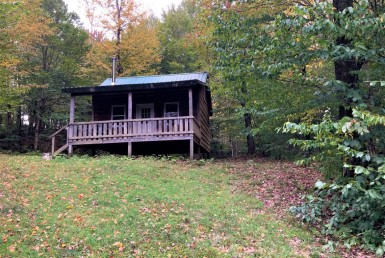 6 acres Cabin near Empeyville Pond
