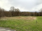 1.16 acres along a quiet, elevated country road
