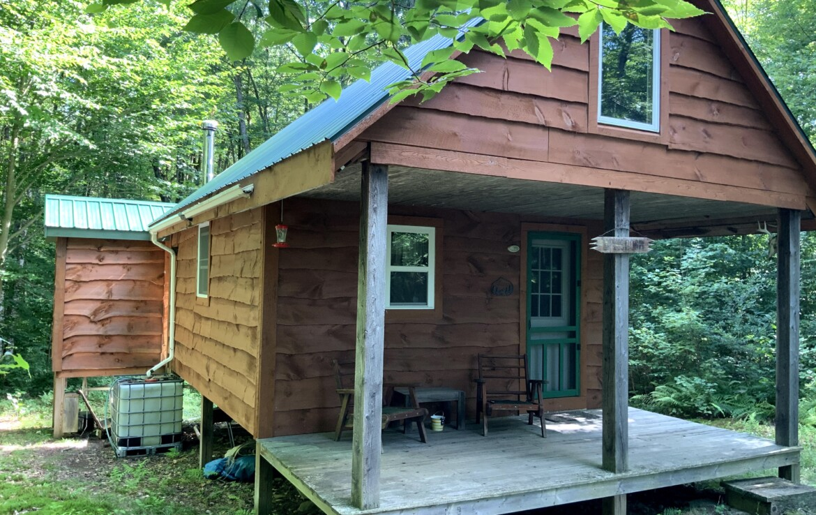 5 acres Tug Hill Hunting Camp Annsville NY