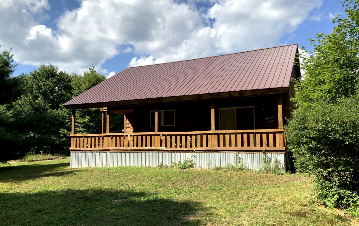 5 acres Land for Sale with Year-round Woodland Cabin, Annsville, NY!