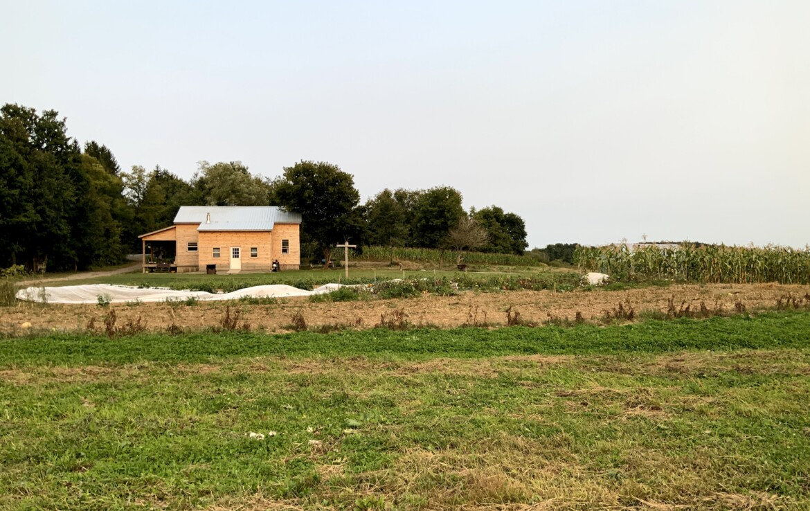 1,500 SqFt Off-grid Farmhouse With Barn, Tillable Land, and Electric at Road!