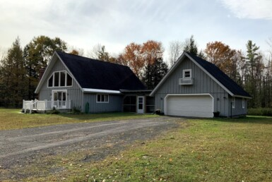126 acres with A-frame Home West Monroe NY