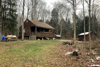 3 acre Woodland Camp Bordering State Land Florence NY