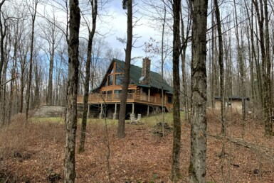15 acre Log Home Near Salmon River Orwell NY