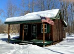 9 acres with Cabin and Garage in Croghan NY