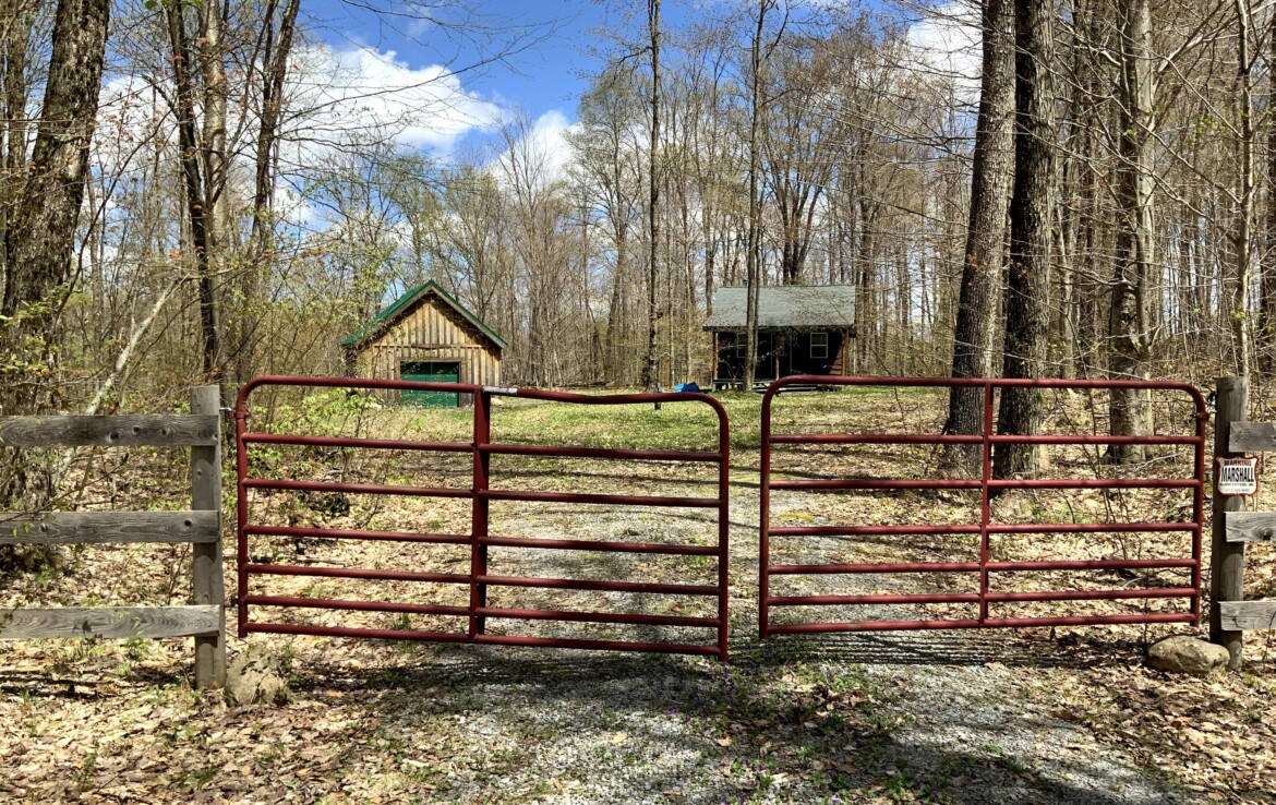 9 acres Land for Sale with Turnkey Cabin and Garage, Croghan, NY!