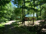 2.46 acres Land For Sale with Woodland Cabin and Pond, Amboy, NY!