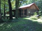 1376 Sq Ft Log Cabin For Sale with 2 Bedroom and Loft, Scriba, NY!
